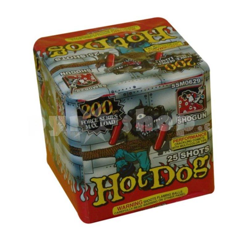 Kompakt HotDog 25 střel