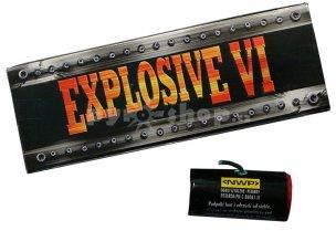 Airsoftový granát EXPLOSIVE VI 6ks